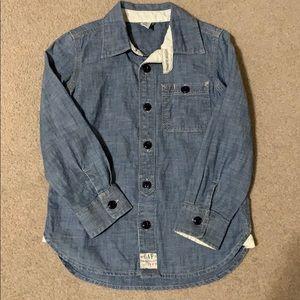 NWOT Gap jean shirt